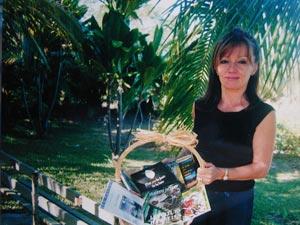 Claudine Jacques, une écrivaine calédonienne…