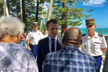 Visite Présidentielle d'EMMANUEL MACRON à Ouvéa