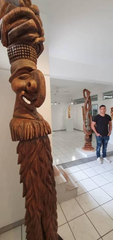 Famille Tiaou, sculpteurs Kanak de père en fils…